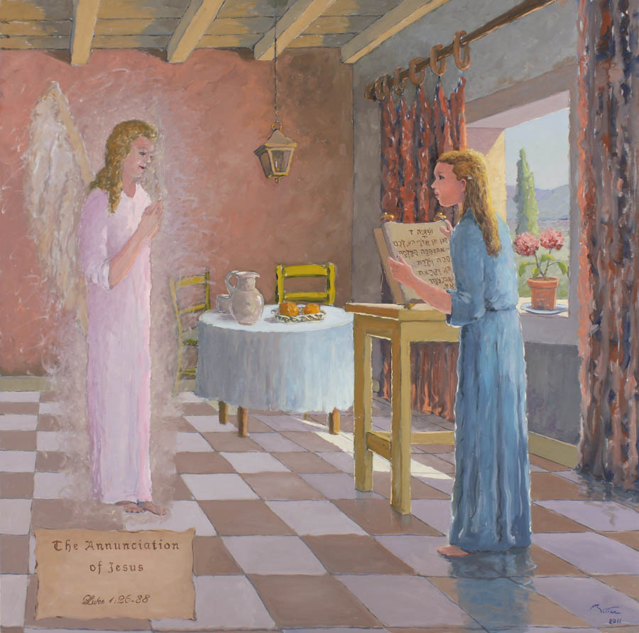 The Annunciation of Jesus
