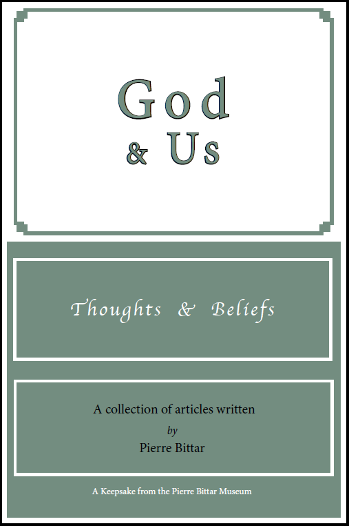God & Us - Thoughts & Beliefs